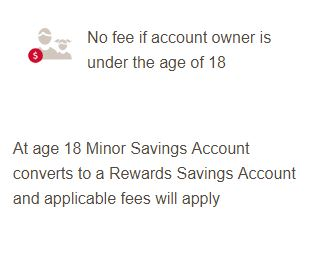 Bank of America Child Savings Account