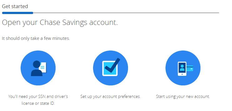 Chase savings account