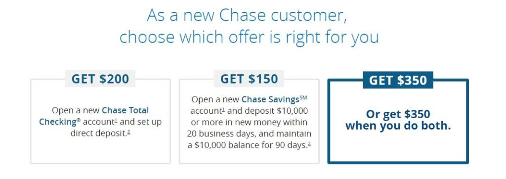 Chase savings accounts