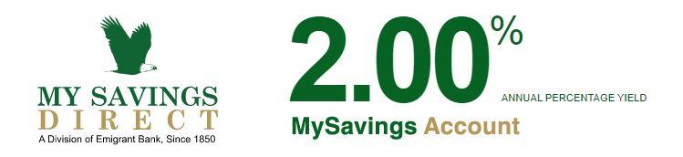 MySavingsDirect APY Online Savings Account
