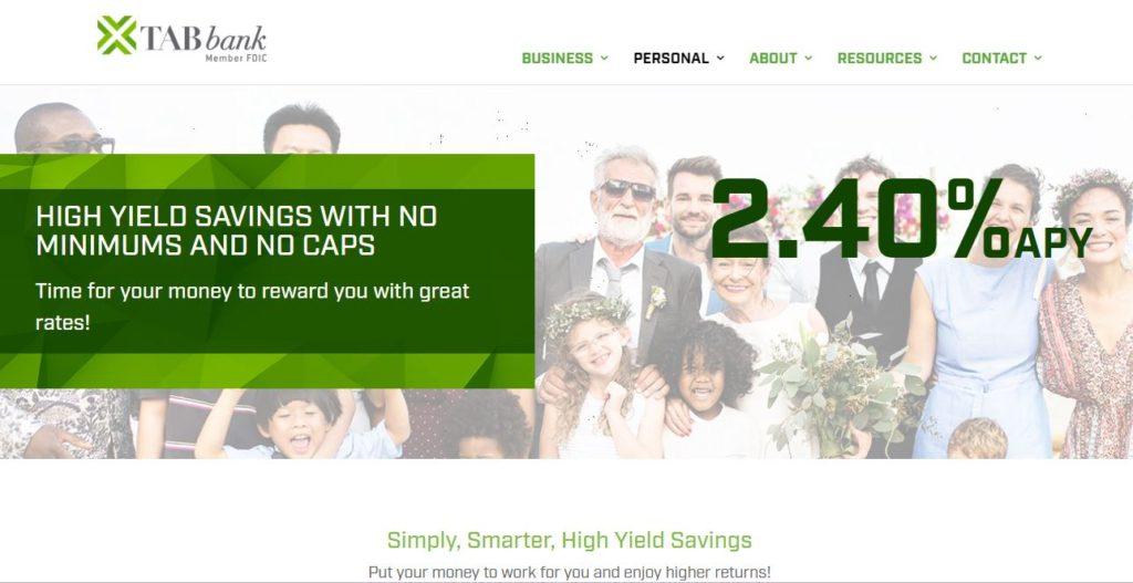 TAB online savings account